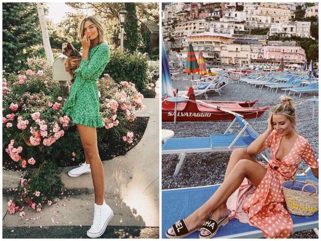 30 Outfits que están en Tendencia - moda verano vestidos de lunares