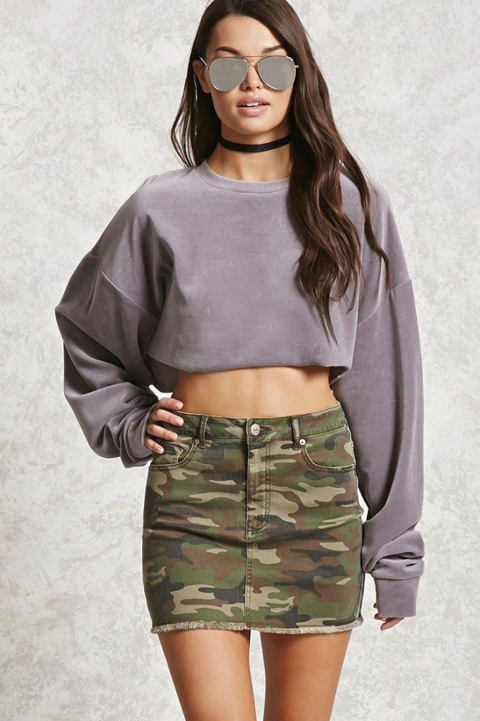 falda army - falda militar - camuflaje - outfit militar -falda denim - mini falda - .falda de jeans- outfit para verano - faldita