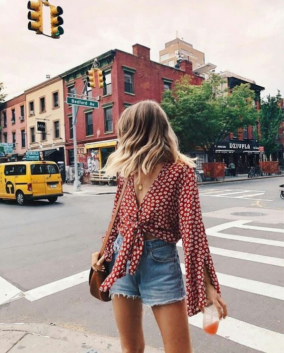 pantalones cortos denim- pantalones cortos de verano - outfits para verano - verano short denim -