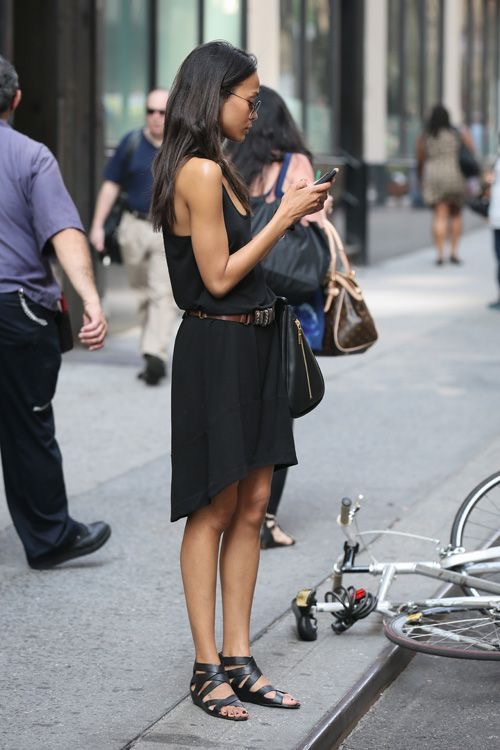 ropa negra para verano - Vestido negro para verano cómodo