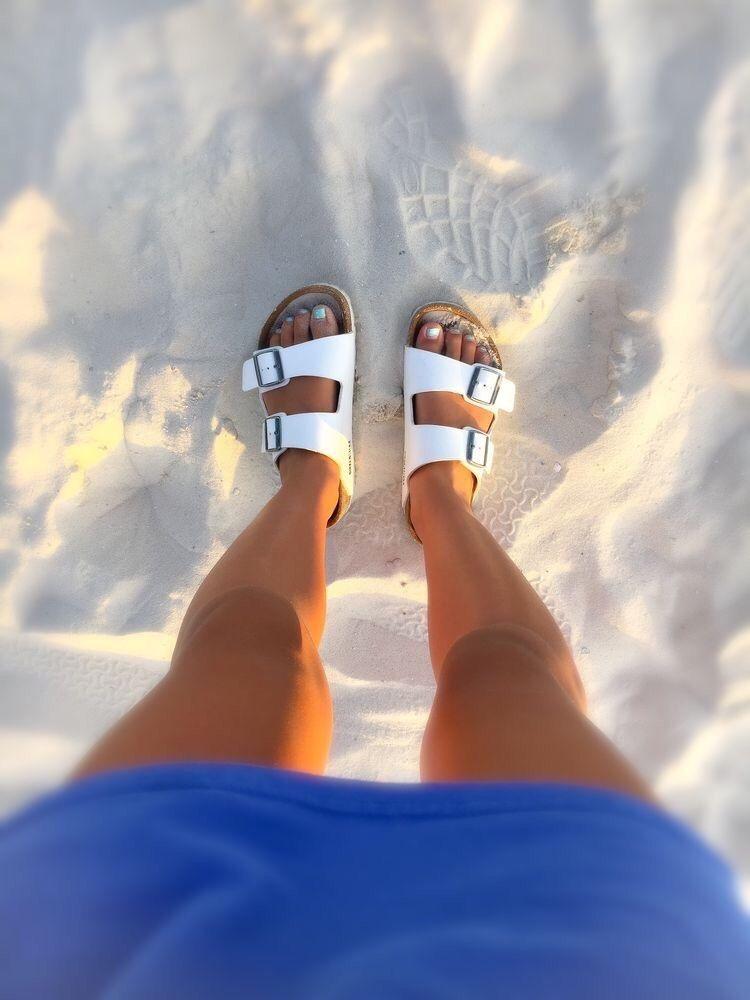 sandalias de verano mujer - moda verano - calzado veraniego- sandalias mujer blancas de ganchos