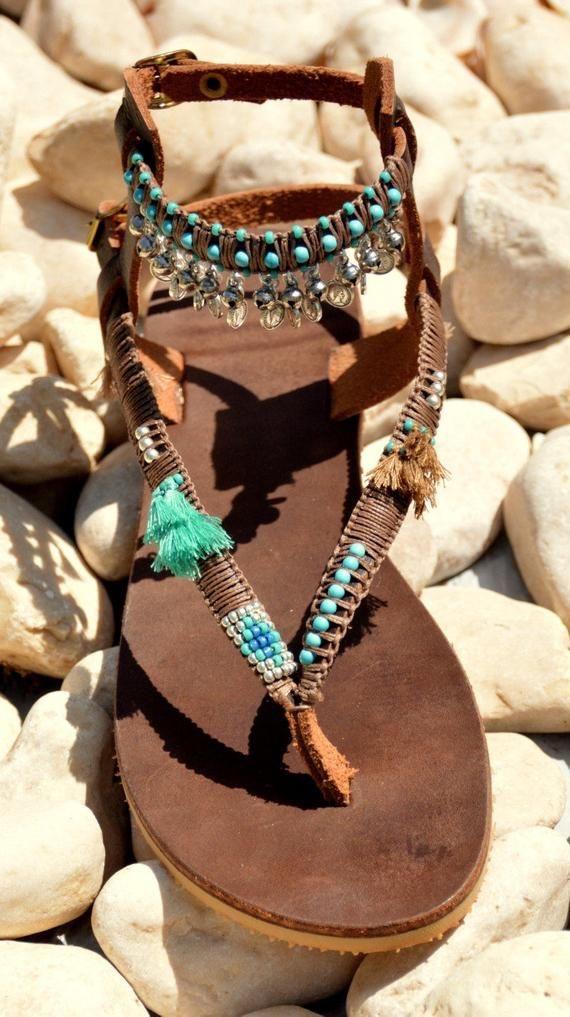 sandalias de verano mujer - moda verano - calzado veraniego- sandalias mujer boho