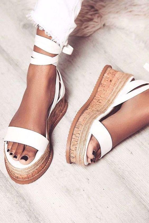 sandalias de verano mujer - moda verano - calzado veraniego- sandalias mujer cuña zara