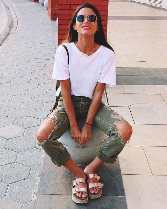 sandalias de verano mujer - moda verano - calzado veraniego- sandalias mujer doradas
