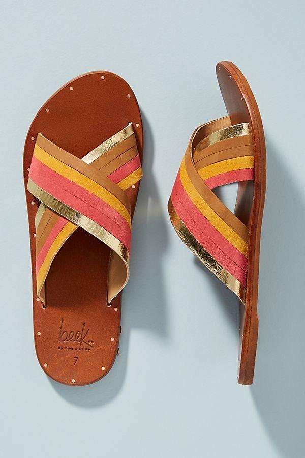 sandalias de verano mujer - moda verano - calzado veraniego- sandalias mujer planas stradivarius