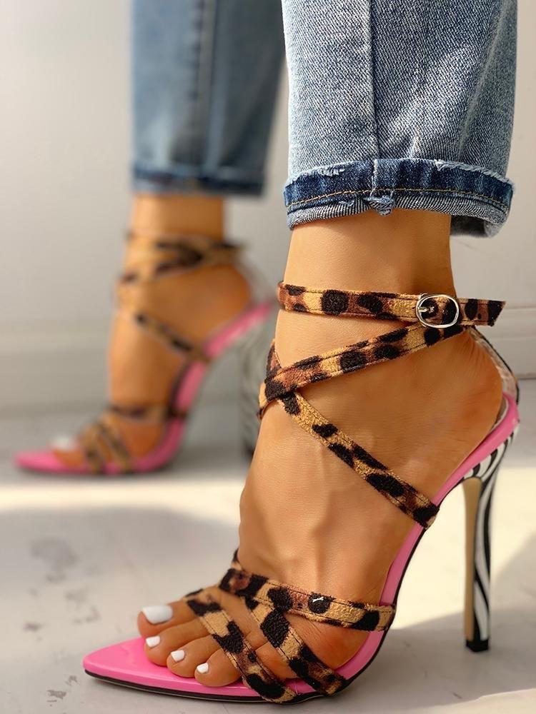 sandalias de verano mujer - moda verano - calzado veraniego- sandalias mujer tacon transparente