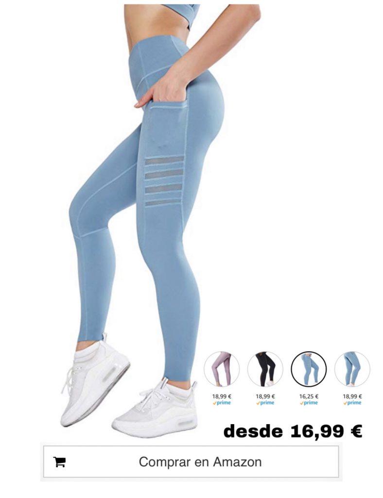 Leggings Reductores De Grasa Y Anticelulitis Mujeres Tienda