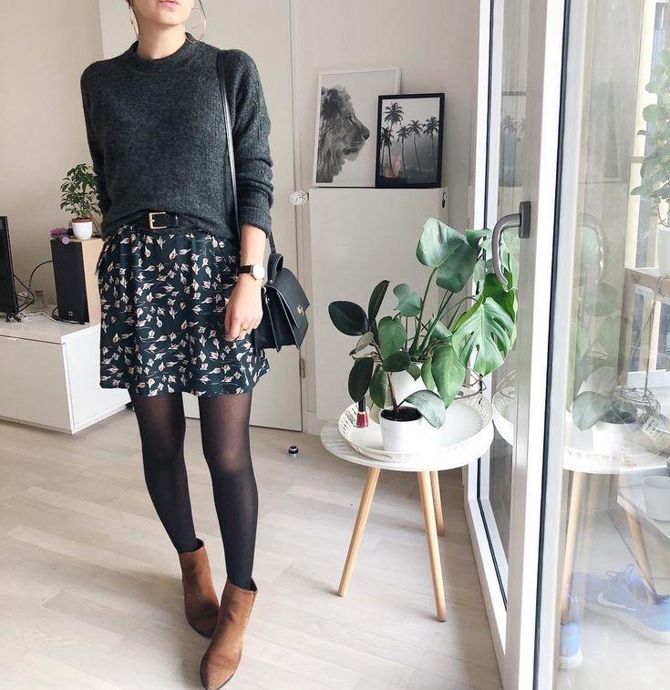 Mini faldas - Faldas cortas otoño ancha