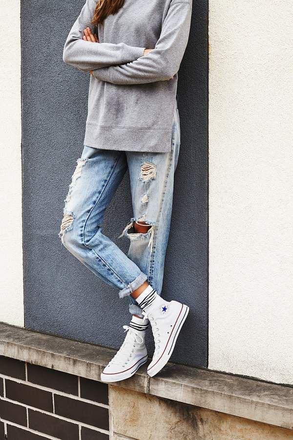 Outfits con converse otoño
