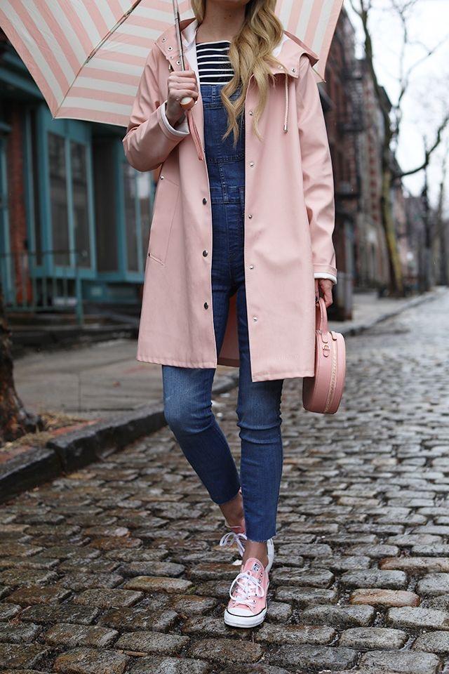 Outfits con converse rosa para primavera