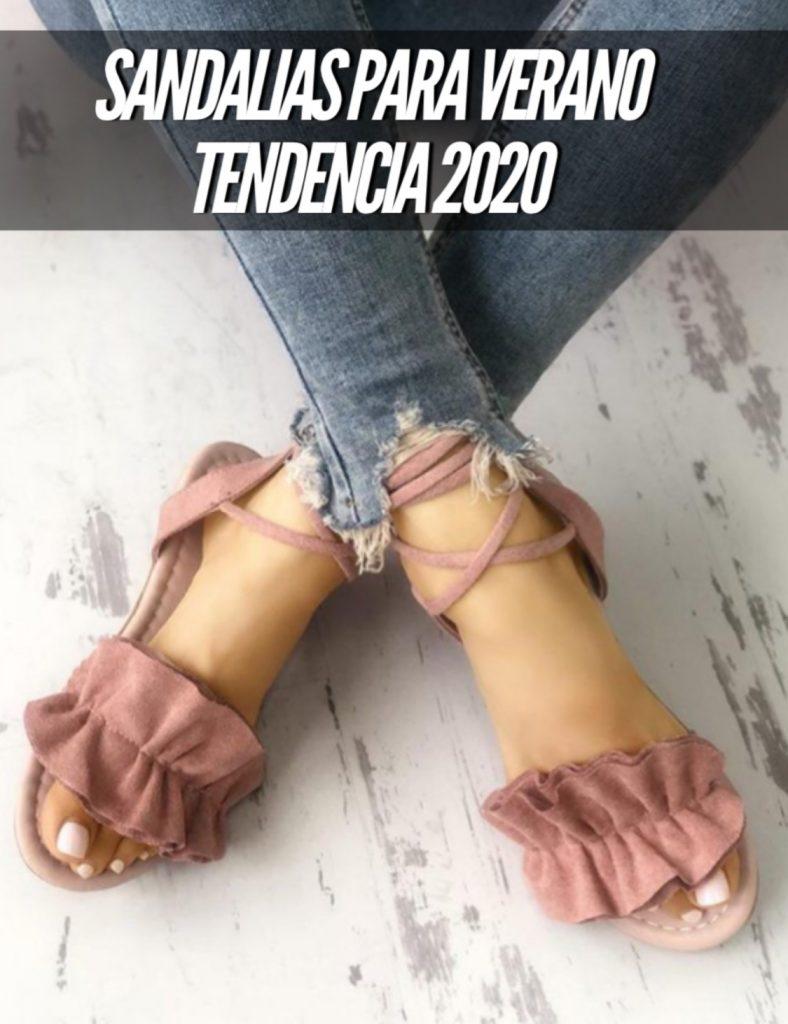 sandalias para verano tendencia 2020
