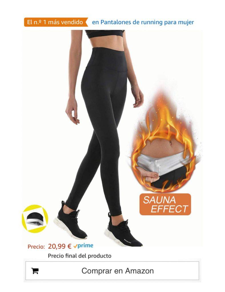 en Pantalones de running para mujer