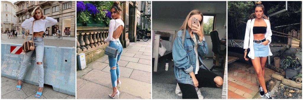 ▷ 50 + Outfits Denim Mujer para todas las temporadas- vaqueros mujer - chaqueta de jeans