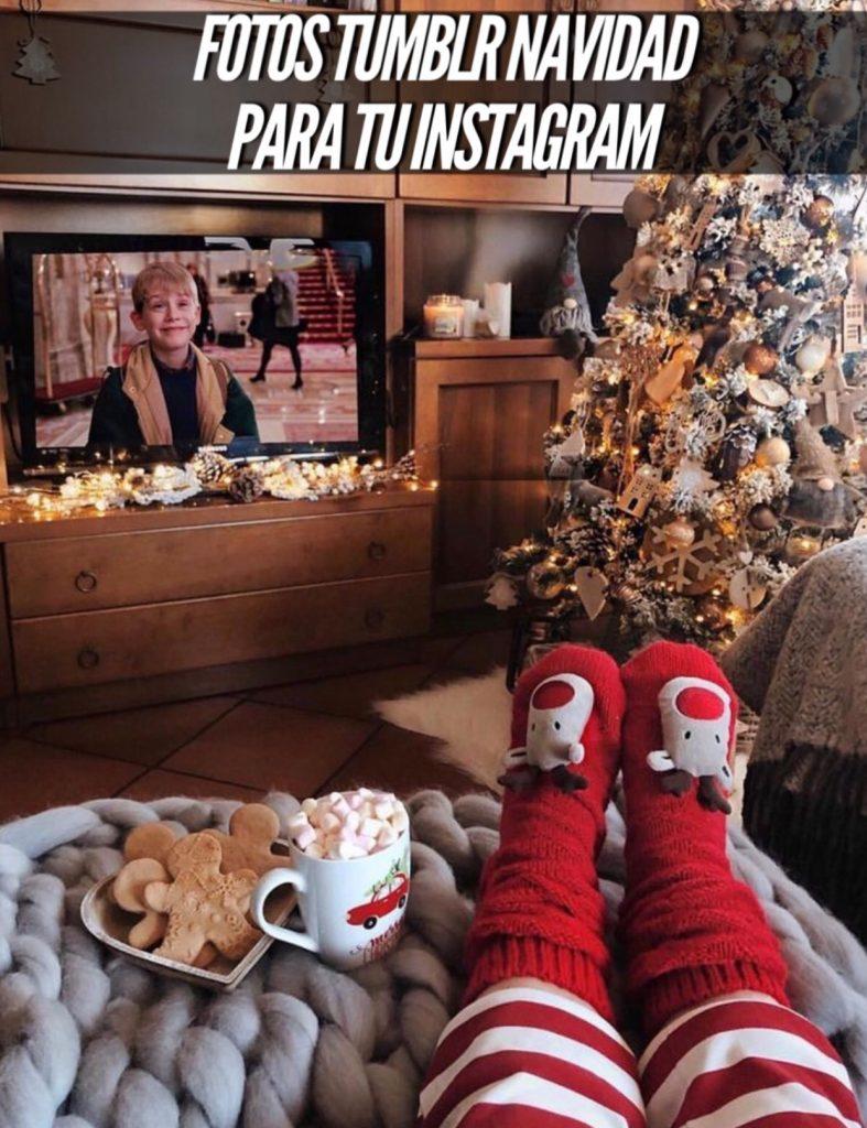 Navidad tumblr - Como hacer fotos originales para instagram de Navidad. en la calle