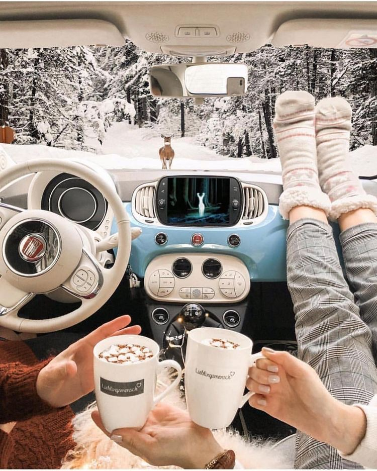 Navidad tumblr - Como hacer fotos originales para instagram de Navidad. foto en el auto