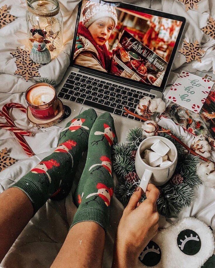 Navidad tumblr - Como hacer fotos originales para instagram de Navidad. fpto con calcetines de navidad