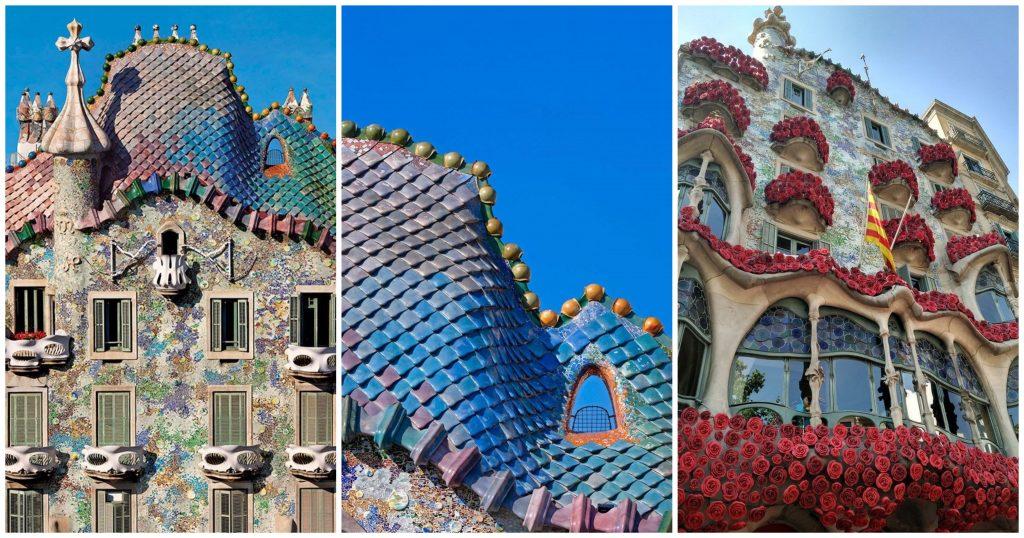 casa Batlló y Sant Jordi