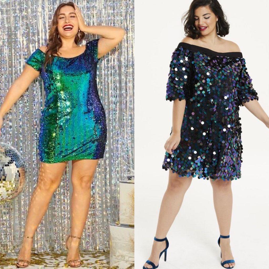 vestidos nochevieja 2019 2020 - outfits noche vieja - vestidos fin de año - vestidos para gorditas