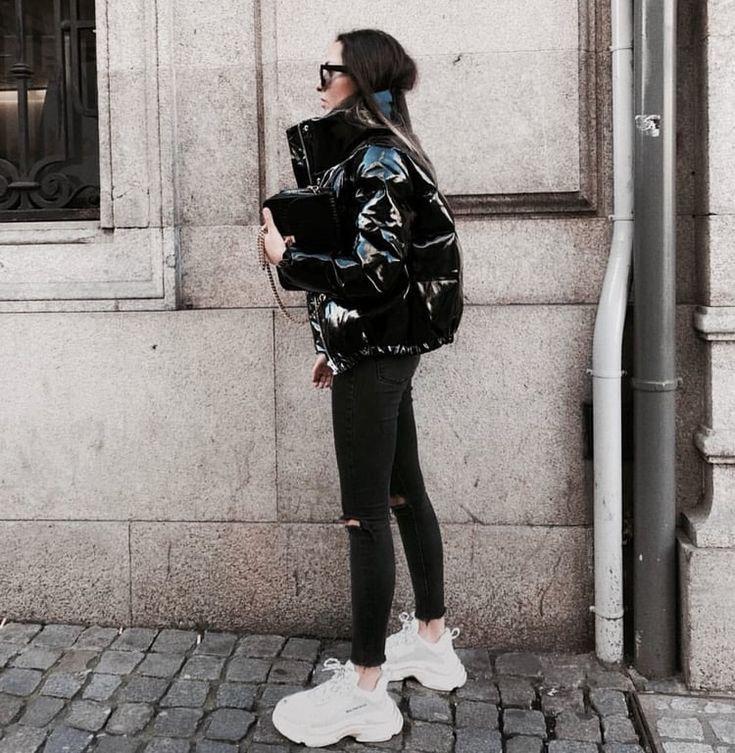 chaqueta plumon abombada - outfit invierno 2020 tendencia