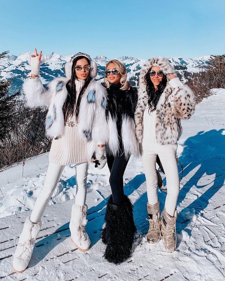 look para la nieve con amiagas - outfit invierno 2020
