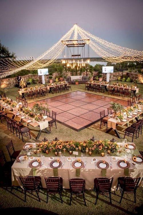 ¿De que estilo será tu boda? decoración de boda
