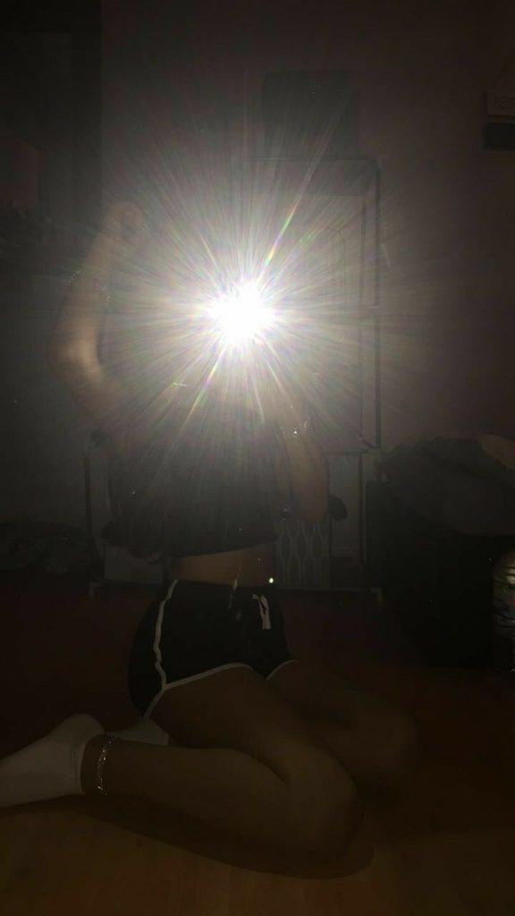 Fotos tumblr en el espejo con flash