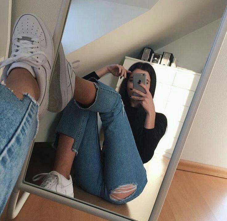 Fotos tumblr en el espejo sola