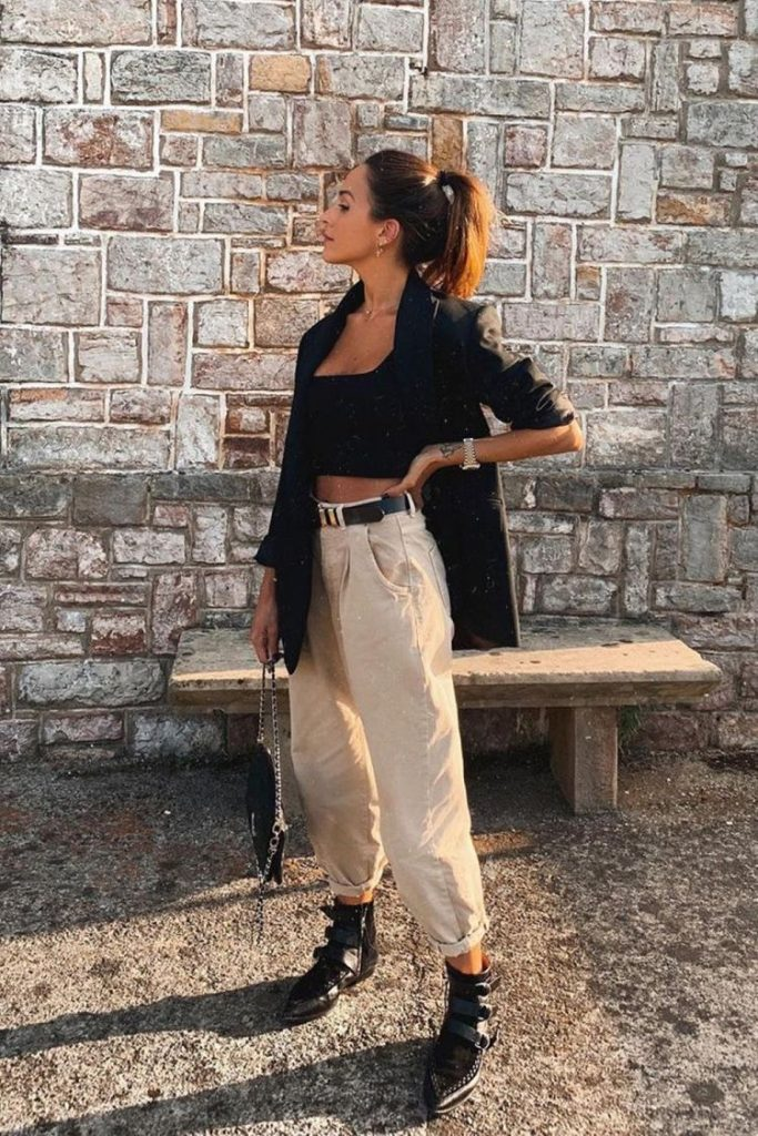 Slouchy jeans outfits chic - Slouchy jeans outfits zara