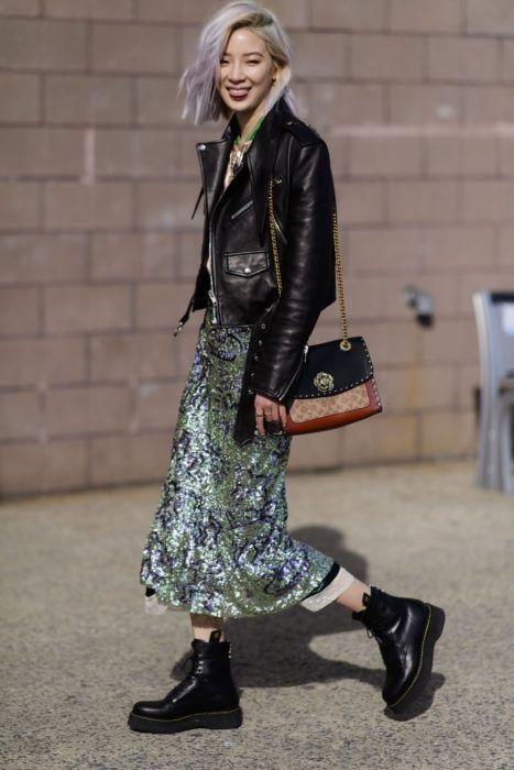 Tendencias Primavera, los outfits de moda - faldas florales para primavera