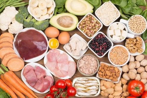 alimentos ricos en biotina- alimentos para detener la perdida de cabello