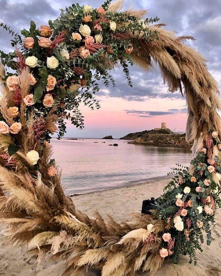 arco de flores para bodas