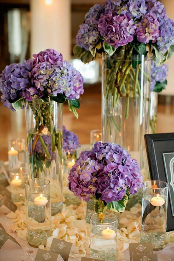 centros de mesa - ideas para decoración de bodas