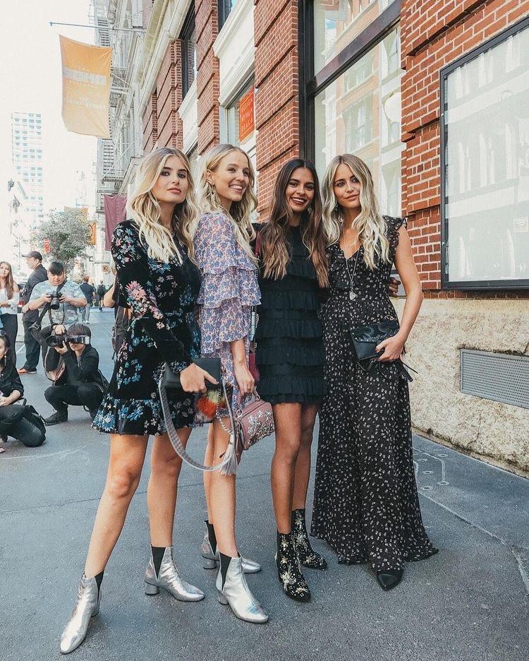 looks con amigas - las mejores tendencias de primavera verano 2020