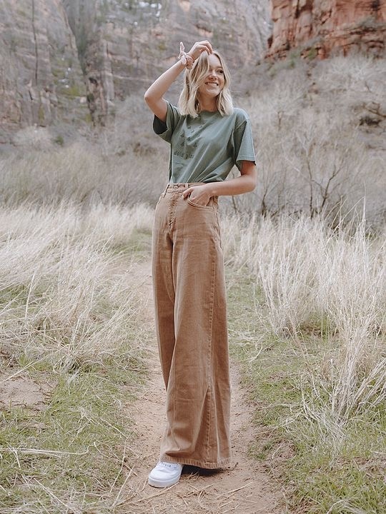 Slouchy jeans outfits chic