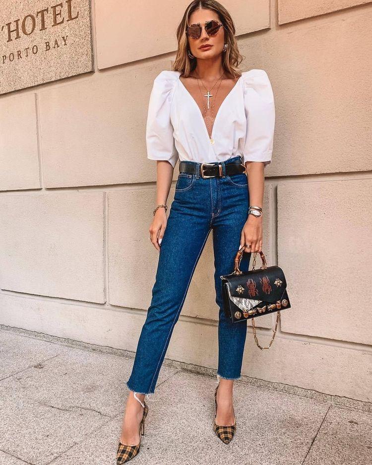 tendencia de mangas abollonadas - ropa elegante