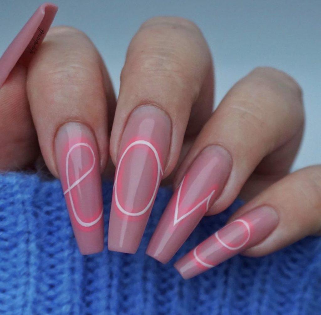 uñas dia de los anamorados - Valentine's Day Nail Designs
