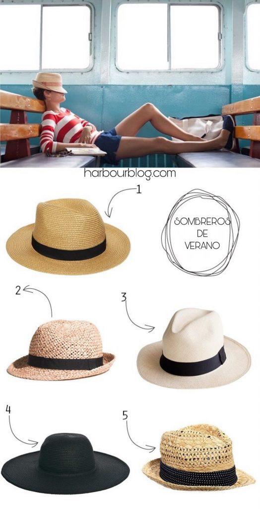 3 formas de lucir una Pamela, Floppy o sombrero de playa verano