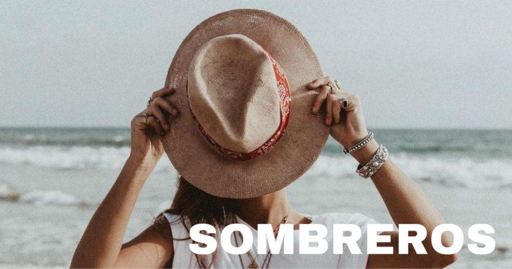 SOMBREROS sombrero de mujer verano - sombreros de paja - sombreros para la playa - harbourblog