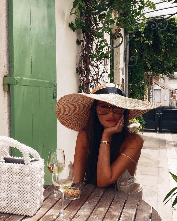 sombrero de mujer verano - sombreros de paja - sombreros para la playa - harbourblog sombrero pamela