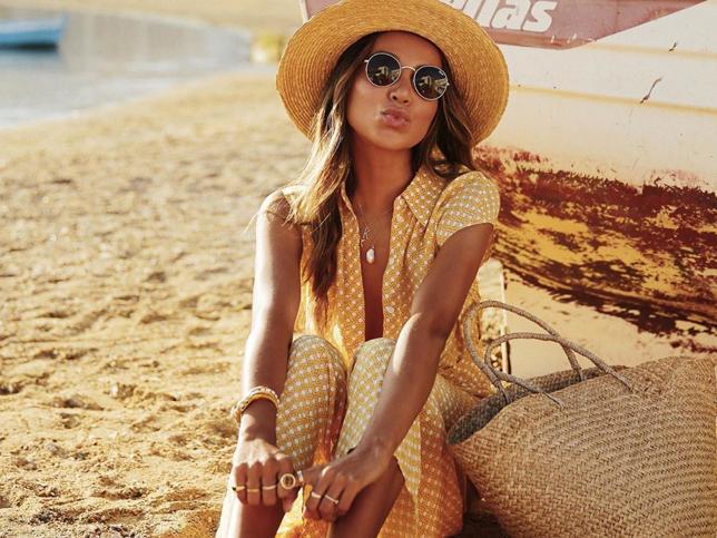 sombrero de mujer verano - sombreros de paja - sombreros para la playa - harbourblog