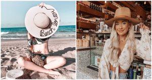 22 tendencias de sombrero para playa