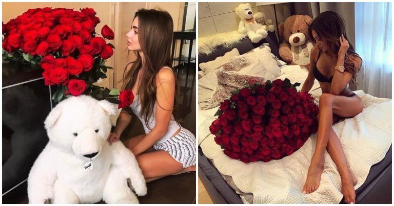 Flores Rojas hermosas para regalar y decorar