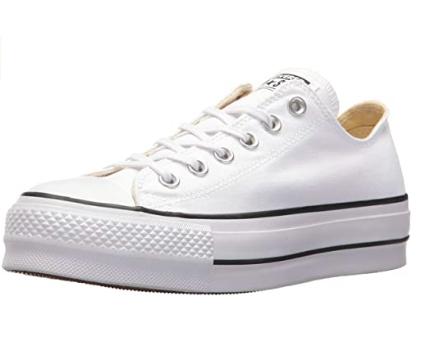 Converse Chuck Taylor - converse blancas plataforma - Zapatillas para Mujer Converce blancas - converse suela alta
