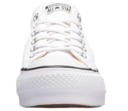 Converse blancas plataforma - converse mujer -Zapatillas para Mujer Converse blancas - converse suela altas