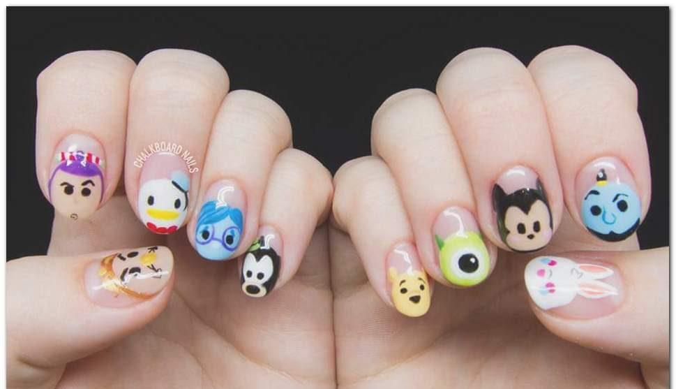 Uñas princesa Disney - uñas Disney navidad - Uñas Disney largas - uñas acrílicas Disney - uñas Minnie - uñas mickey - uñas tusa tusa Disney - uñas princesas Disney -
