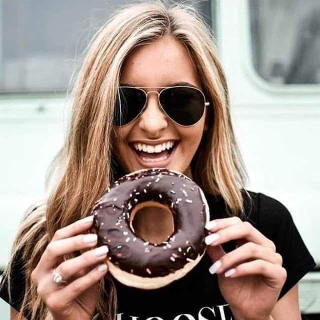 fotos con donas - donut pics