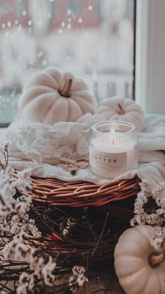 velas - calabazas de otoño, fall wallpapers - fondos de otoño para fotos, fondos de otoño para celular, fondos de otoño vintage