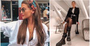 tendencias moda primavera verano - vogue tendencias - pelo moda - mujer moda - outfits - calzados de moda - looks con botas militares - converse plataformas